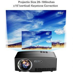 video proiettore yaufey 180 lumen