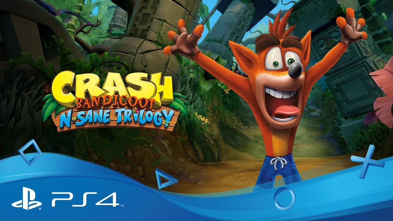 crash bandicot nsane triogy classifica migliori giochi ps4
