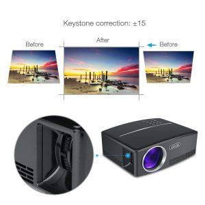 TOQIBO Proiettore HD videoproiettore